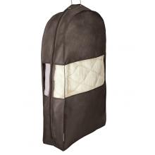 Чехол для курток коричневый