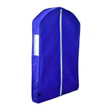 Чехол для курток синий