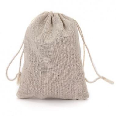 Тканевый мешочек из льна